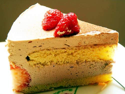 西式甜品做法培训|香草慕斯蛋糕的做